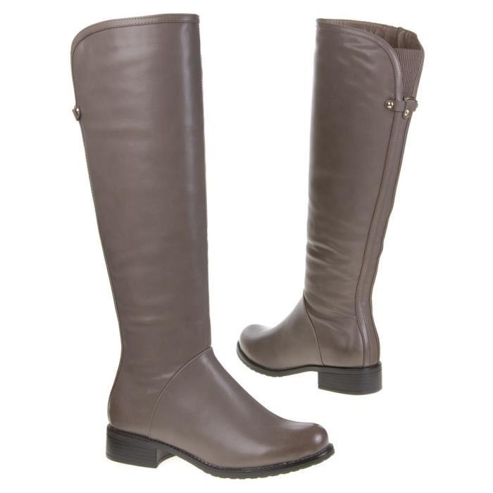 bottes grises femme