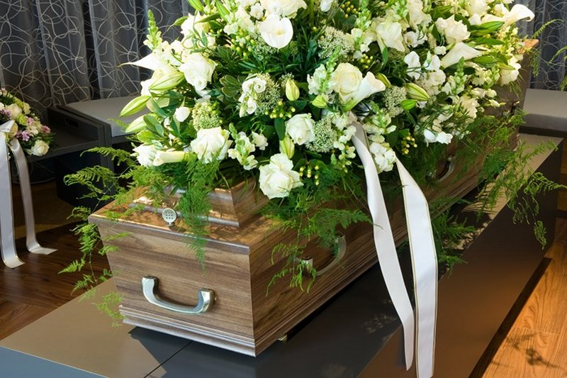 C'était un enterrement très gai