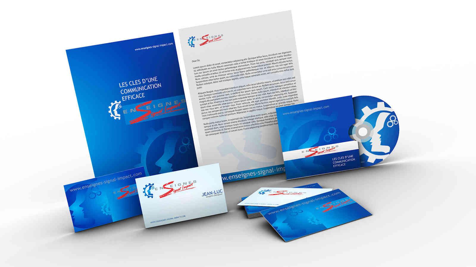 Impression brochure : les caractéristiques techniques