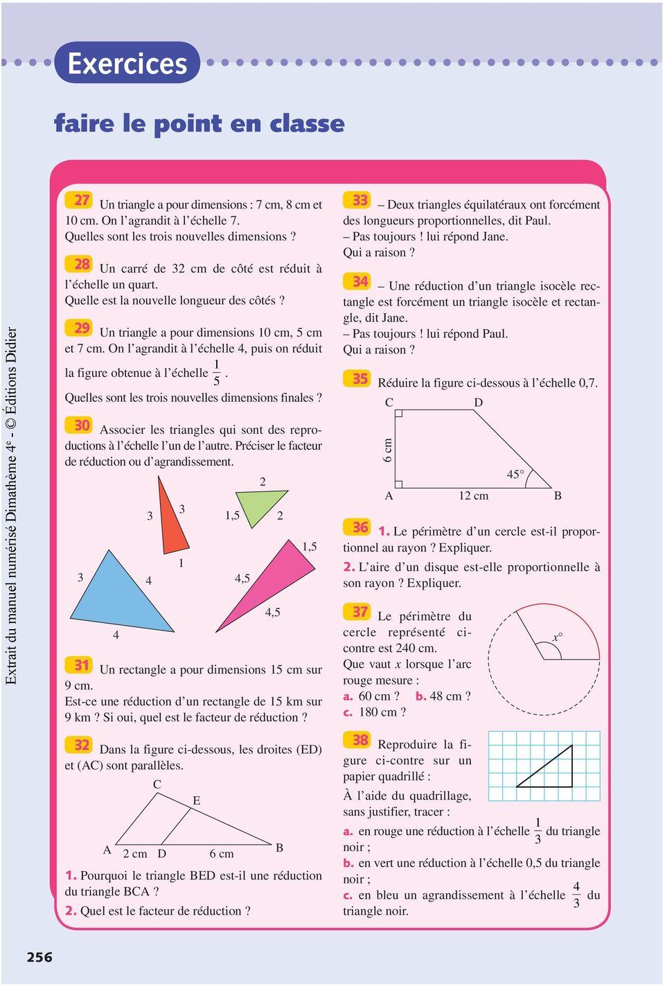 Comment calculer l 39 angle d 39 un triangle - Comment couper un angle a 45 degres ...