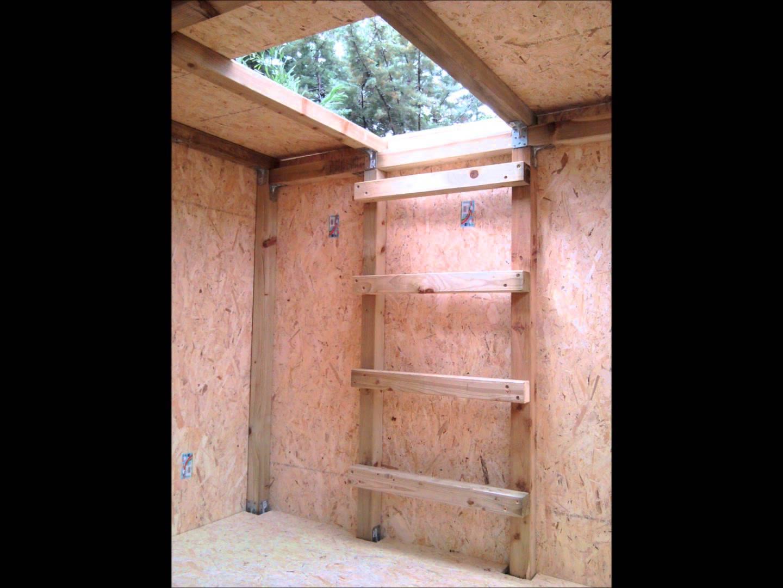 Comment construire une cabane avec des palettes - Construire une cabane de jardin ...